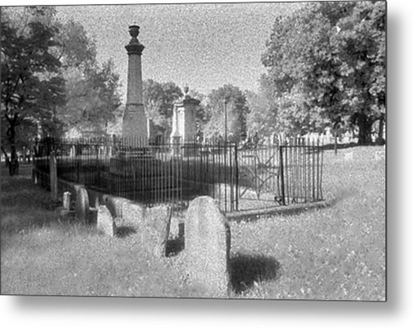 Nashville City Cemetery - 1 Metal Print by Randy Muir