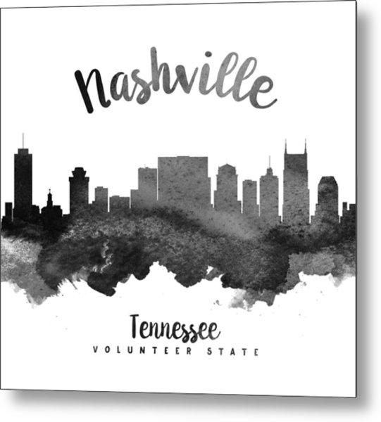 Nashville Tennessee Skyline 18 Metal Print