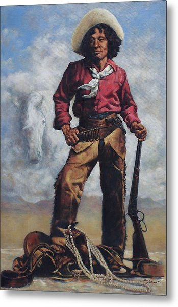 Nat Love - Aka - Deadwood Dick Metal Print
