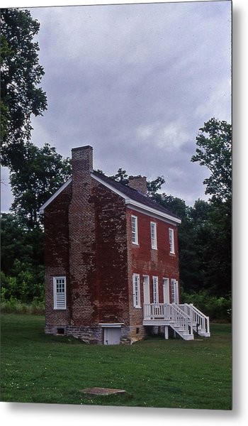 Natchez Trace Gordon House - 3 Metal Print by Randy Muir