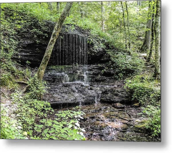 Natchez Trace Waterfall Metal Print