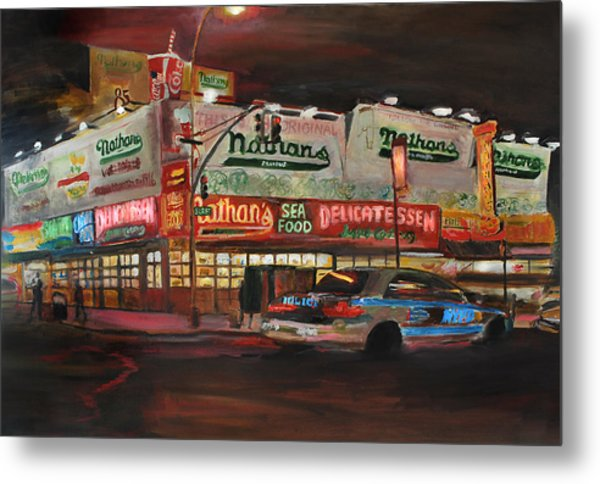 Nathan's Metal Print by Wayne Pearce
