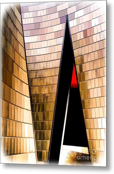 National Music Centre Canada No. 1 - Dynamic Metal Print by Bob Lentz