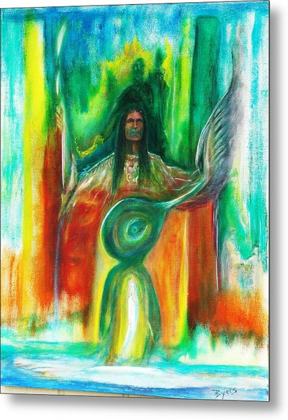 Native Awakenings Metal Print