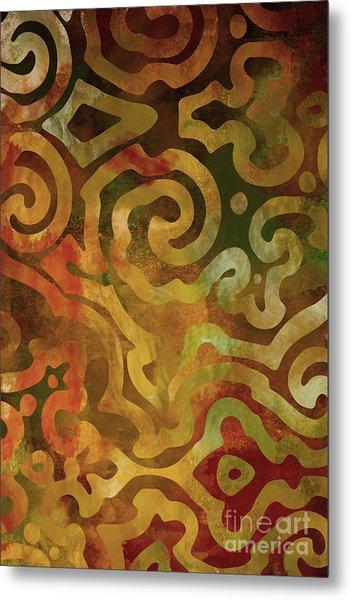 Native Elements Earth Tones Metal Print