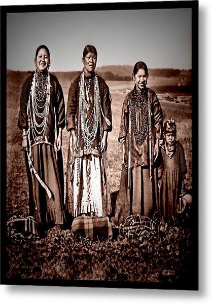 Native Pride Metal Print