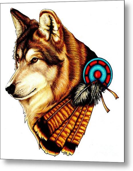 Native Spirit Metal Print