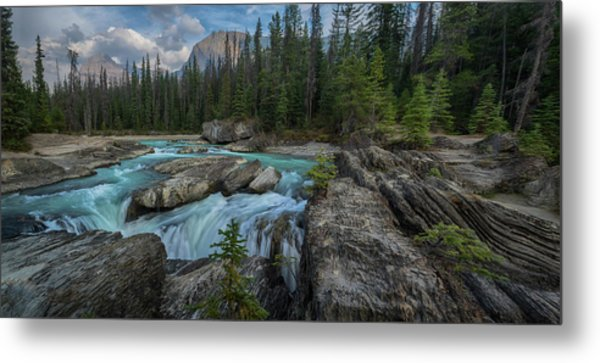 Natural Bridge Metal Print
