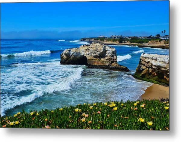 Natural Bridges State Park View Metal Print