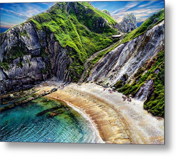 Natural Cove Metal Print