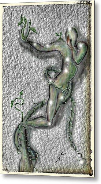 Nature And Man Metal Print