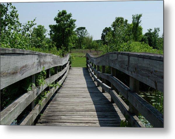 Nature Bridge Metal Print