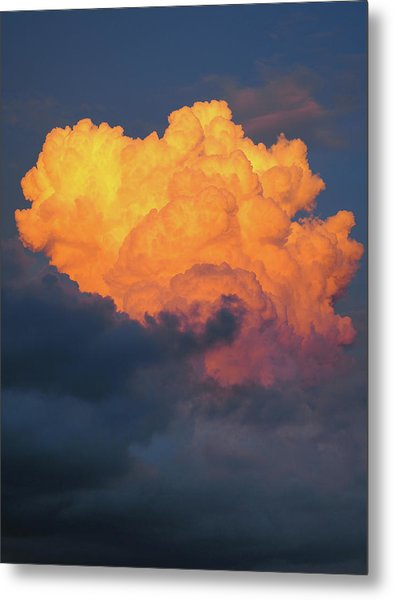Nature Explotion Metal Print