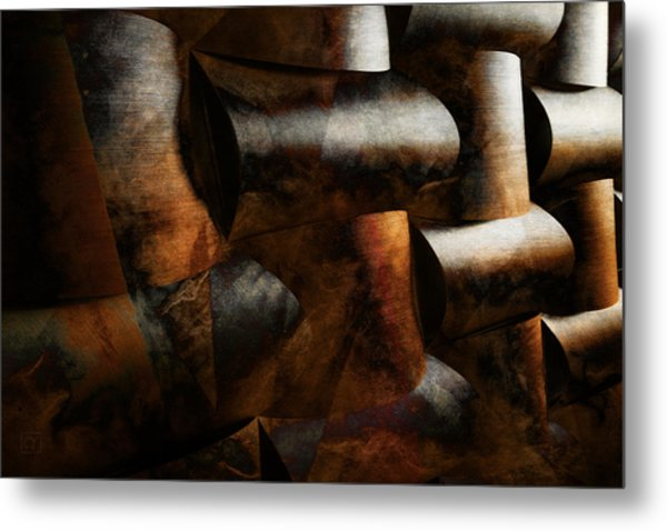 Nature Re-patterned Metal Print