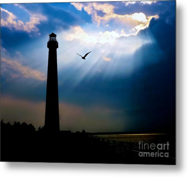 Nature Shines Brighter Metal Print