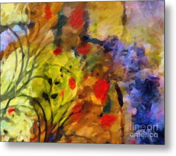 Natures Colorplay Metal Print