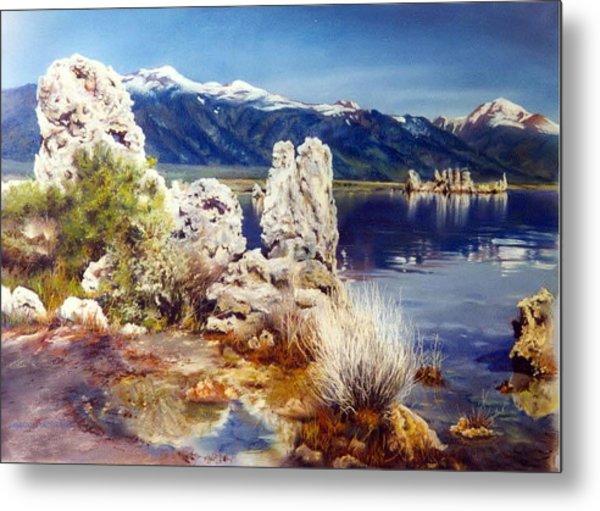Nature's Ghosts Metal Print by Marion  Hylton