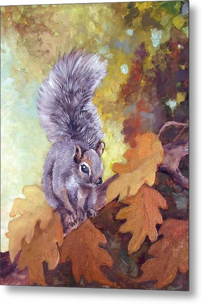 Nature's Guardian Metal Print by Audie Yenter