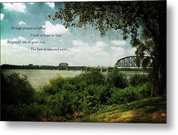 Natures Poetry Metal Print