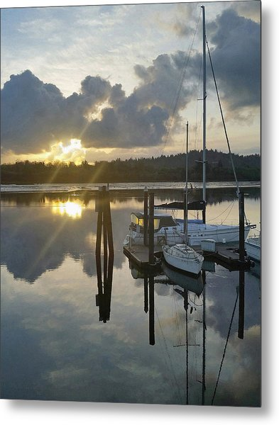 Nautical Mood Metal Print