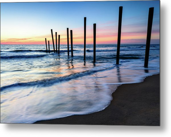 Nautical Morning Metal Print