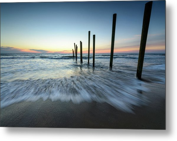 Nautical Mystique Metal Print