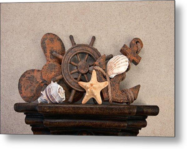 Nautical Still Life IIi Metal Print