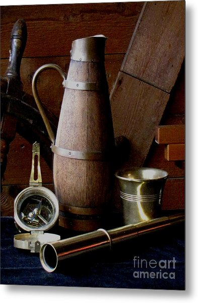 Nautical Things Metal Print by Pauline Ross