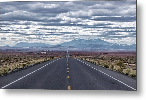 Navajo Route 15 Metal Print