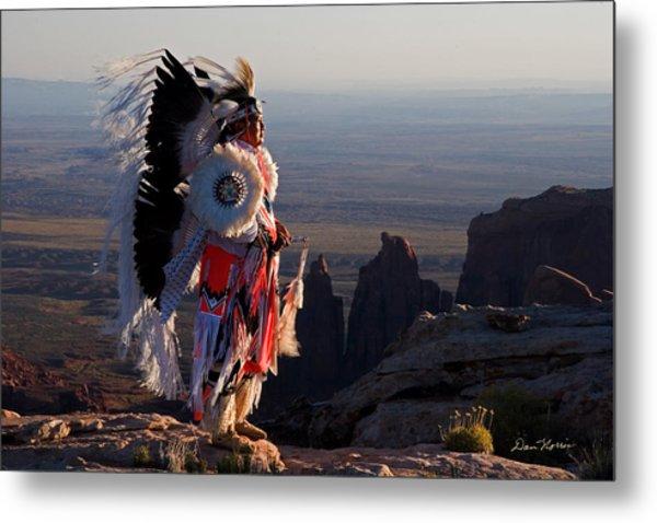 Navajo Sunrise Metal Print