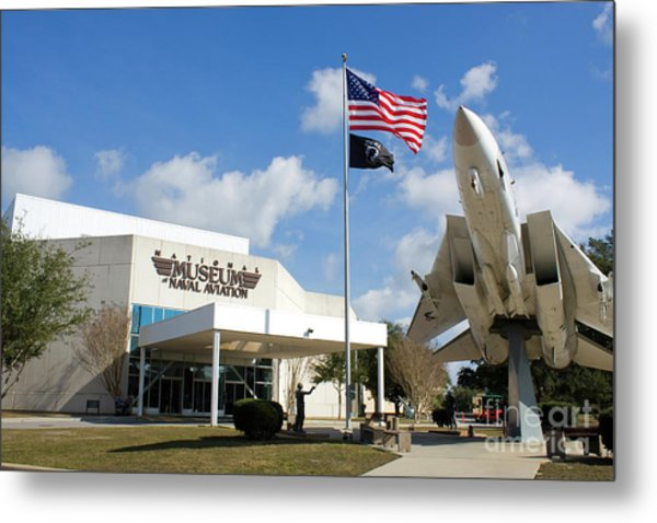 Metal Print featuring the photograph Naval Aviation Museum by Steven Frame