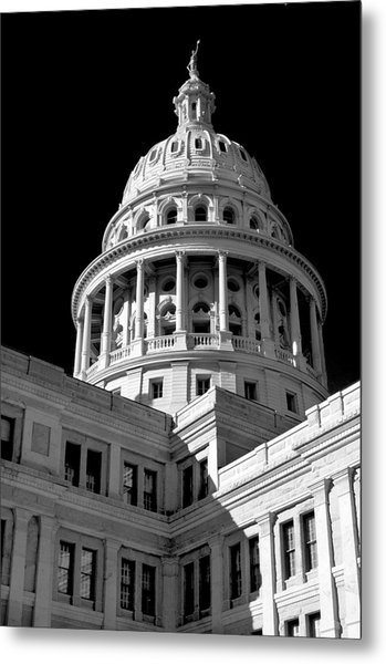 Near Infrared Image Of The Texas State Capitol Metal Print by David Thompson