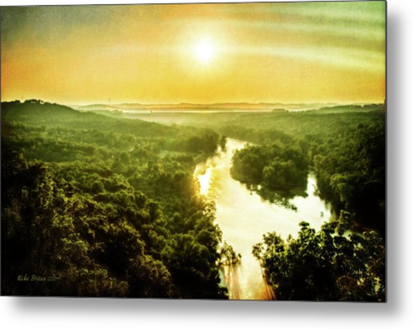 Near Table Rock Lake Metal Print