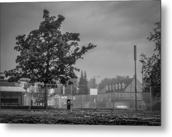 Nearly All Gone Metal Print