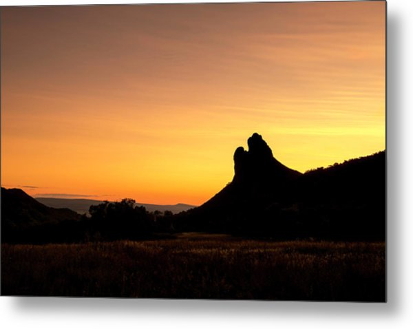 Needle Rock Metal Print