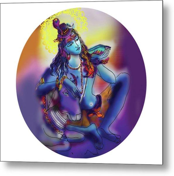Neelakanth Shiva  Metal Print