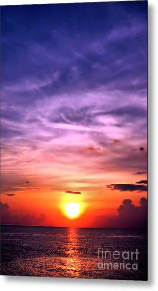 Negril Sunset Metal Print