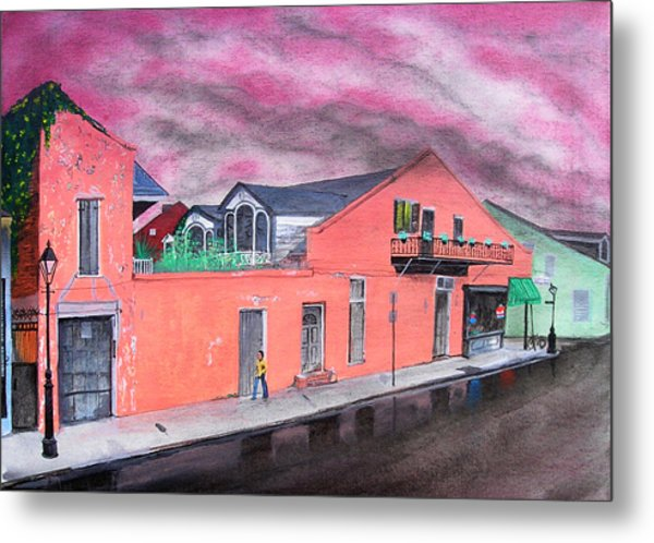 Nelly's Deli Metal Print by Tom Hefko