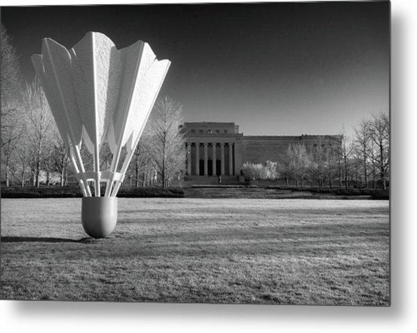 Nelson Atkins Art Museum In Infrared - Kansas City Metal Print