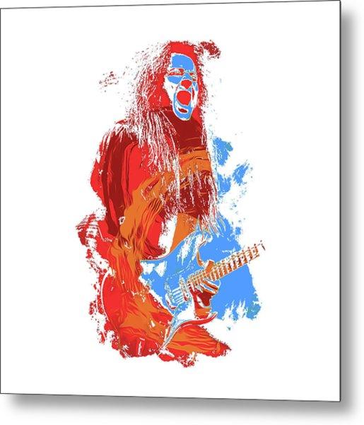 Neoclassical Guitarist Metal Print by Andrea Mazzocchetti