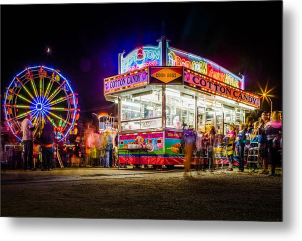 Neon Fun Metal Print by Bryan Moore