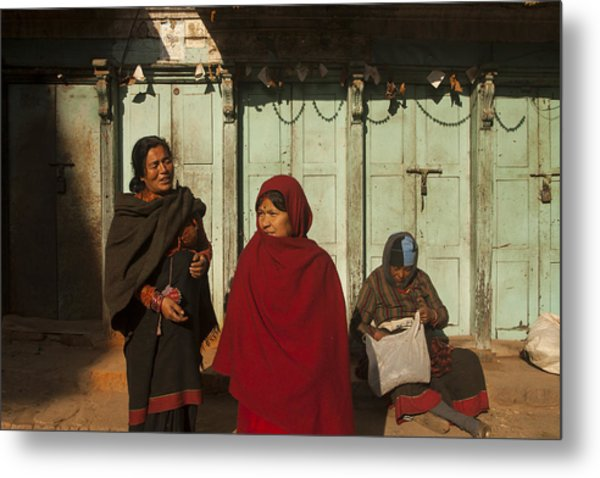 Nepalese Afternoon Metal Print