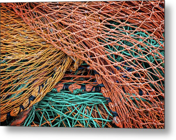 Nets On Skye Metal Print