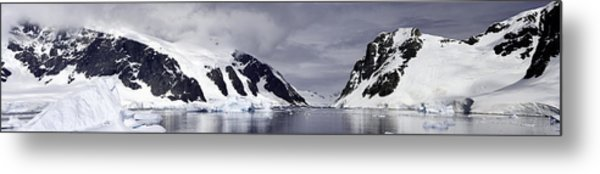 Neumeyer Channel - Antarctica Metal Print