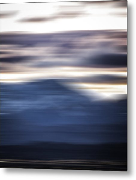 Nevada Blur #1 Metal Print by Rob Worx