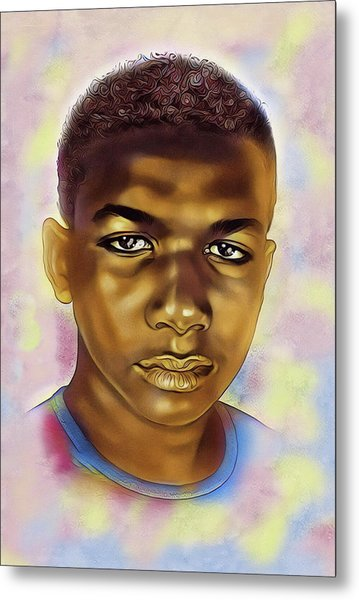 Never Forget Trayvon Metal Print