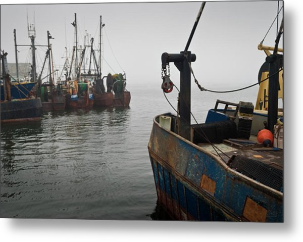 New Bedford Waterfront No. 2 Metal Print