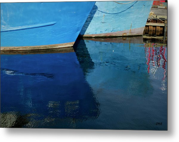 New Bedford Waterfront X Metal Print