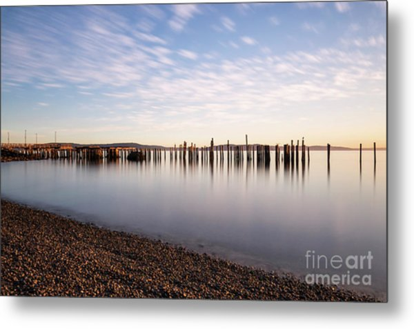 New Day In The Bay Metal Print