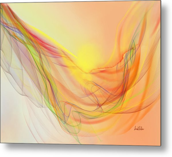 New Earth With Harmonious Layers Metal Print